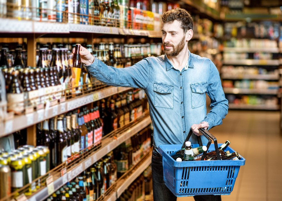 Off-licence and supermarket alcohol sales are up 22%
